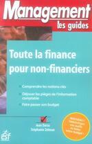 Couverture du livre « Toute la finance pour non-financiers » de Jean Darsa aux éditions Esf Prisma