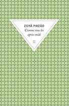 Couverture du livre « Comme tous les après-midi » de Zoya Pirzad aux éditions Zulma