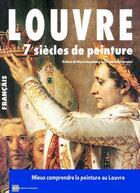 Couverture du livre « Louvre ; 7 siècles de peinture » de Pierre Rosenberg aux éditions Art Lys