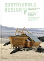 Couverture du livre « Sustainable design 7 » de Marie-Helene Contal et Jana Revedin aux éditions Alternatives