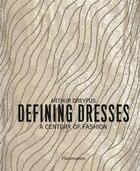 Couverture du livre « Defining dresses » de Arthur Dreyfus aux éditions Flammarion