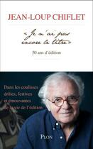 Couverture du livre « Je n'ai pas encore le titre » de Jean-Loup Chiflet aux éditions Plon