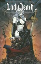 Couverture du livre « Lady Death t.1 » de Mike Wolfer et Brian Pulido et Marcelo Mueller aux éditions French Eyes