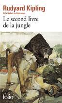 Couverture du livre « Le second livre de la jungle » de Rudyard Kipling aux éditions Gallimard