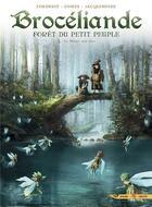 Couverture du livre « Brocéliande ; forêt du petit peuple T.5 ; le miroir aux fées » de Francois Gomes et Sylvain Cordurie aux éditions Soleil