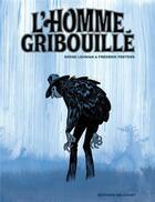 Couverture du livre « L'homme gribouillé » de Serge Lehman et Frederik Peeters aux éditions Delcourt