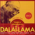 Couverture du livre « Pensées et méditations du Dalaï-Lama 2014 » de Collectif aux éditions Editions 365