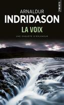 Couverture du livre « La voix » de Arnaldur Indridason aux éditions Points