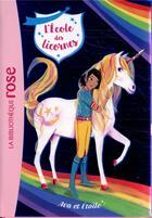 Couverture du livre « L'école des licornes T.3 ; Ava et Etoile » de Julie Sykes et Florence Mortimer et Nosy Crow aux éditions Hachette Jeunesse