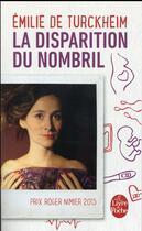 Couverture du livre « La disparition du nombril » de Emilie De Turckheim aux éditions Lgf