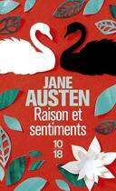 Couverture du livre « Raison et sentiments » de Jane Austen aux éditions 10/18