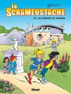 Couverture du livre « Le Scrameustache T.43 ; les caprices de Cupidon » de Gos aux éditions Glenat