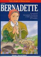 Couverture du livre « Bernadette Bd » de Thierry Leveau aux éditions Salvator