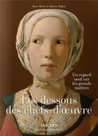 Couverture du livre « Les dessous des chefs-d'oeuvre » de Collectif aux éditions Taschen