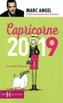 Couverture du livre « Capricorne (édition 2019) » de Marc Angel aux éditions Hors Collection