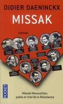 Couverture du livre « Missak » de Didier Daeninckx aux éditions Pocket