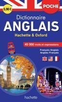 Couverture du livre « Dictionnaire poche Hachette Oxford ; bilingue anglais » de Collectif aux éditions Hachette Education