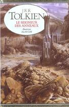 Couverture du livre « Le seigneur des anneaux » de J.R.R. Tolkien et Alan Lee aux éditions Christian Bourgois