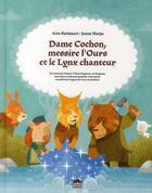 Couverture du livre « Dame cochon, messire l'ours et le lynx chanteur » de Aira Savisaari et Janne Harju aux éditions Le Lezard Noir