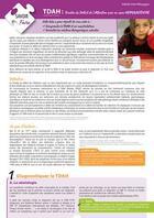 Couverture du livre « TDAH ; trouble du déficit de l'attention avec ou sans hyperactivité » de Maud Gourtay-Saussaye aux éditions Enrick B.
