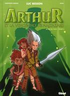 Couverture du livre « Arthur et les minimoys ; Arthur et la vengeance de Maltazard t.2 » de Besson+Lemoine+Cecil aux éditions Glenat