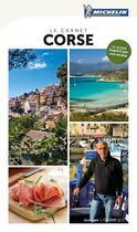 Couverture du livre « Guide touristique Corse » de Collectif Michelin aux éditions Michelin