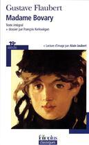 Couverture du livre « Madame Bovary ; moeurs de province » de Gustave Flaubert aux éditions Gallimard