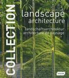 Couverture du livre « Landscape architecture ; architecture de paysage » de Chris Van Uffelen aux éditions Braun