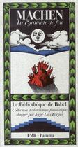 Couverture du livre « La pyramide de feu » de Arthur Machen aux éditions Panama