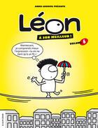 Couverture du livre « Leon A Son Meilleur V. 06 » de Annie Groovie aux éditions Courte Echelle
