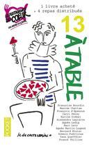 Couverture du livre « 13 à table ! (édition 2017) » de Collectif aux éditions Pocket