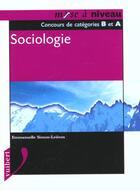 Couverture du livre « Sociologie » de E Simon-Ledoux aux éditions Vuibert