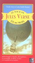 Couverture du livre « Le Tour De Jules Verne En 80 Mots » de Claude Aziza aux éditions Pre Aux Clercs