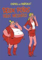 Couverture du livre « Deux poids deux mesures » de Cordell et Marsault aux éditions Le Moule A Gaufres