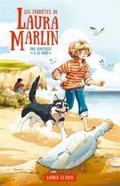 Couverture du livre « Les enquêtes de Laura Marlin T.1 ; une bouteille à la mer » de Lauren St John aux éditions Hachette Romans