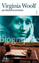 Couverture du livre « Virginia woolf » de Alexandra Lemasson aux éditions Gallimard