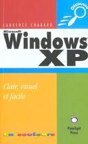 Couverture du livre « Peachpit Decouvrir Windows Xp » de Laurence Chabard aux éditions Peachpit Press
