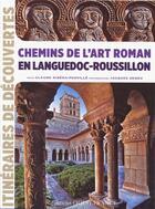 Couverture du livre « Chemins de l'art roman en Languedoc-Roussillon » de Claude Ribera-Perville et Jacques Debru aux éditions Ouest France