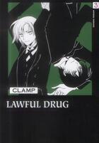 Couverture du livre « Lawful drug t.3 » de Clamp aux éditions Delcourt