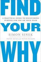 Couverture du livre « Find Your Why » de Simon Sinek aux éditions Viking Adult