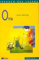 Couverture du livre « Oma- livre » de Peter Hartling aux éditions Didier