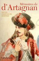 Couverture du livre « Mémoires de d'Artagnan » de Gatien Courtilz De Sandras aux éditions France-empire