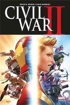 Couverture du livre « Civil War II » de Olivier Coipel et David Marquez et Brian M. Bendis aux éditions Panini