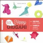 Couverture du livre « Happy bloc origamis » de Didier Boursin aux éditions Dessain Et Tolra