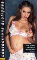 Couverture du livre « Confessions Erotiques T.413 ; Elle Faisait Semblant De Dormir » de Collectif aux éditions Media 1000