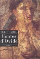 Couverture du livre « Contes d'Ovide » de Ted Hughes aux éditions Phebus