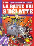 Couverture du livre « La ratte qui s'delatte » de Pierre Ouin aux éditions Lezard