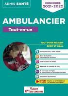 Couverture du livre « Concours ambulancier ; le tout-en-un (édition 2020/2021) » de Dominique Herbaut et Marion Gauthier aux éditions Vuibert