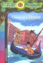 Couverture du livre « La cabane magique T.28 ; carnaval à Venise » de Mary Pope Osborne aux éditions Bayard Jeunesse