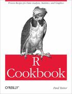 Couverture du livre « R cookbook » de Paul Teetor aux éditions O Reilly